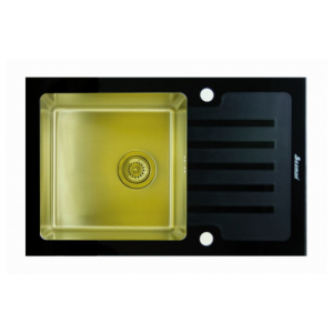 Кухонная мойка Seaman Eco Glass SMG-780B Gold.B (PVD)