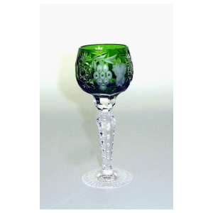 Рюмка для ликера Ajka Crystal Grape Emerald 60 мл