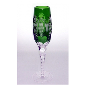 Бокал для шампанского Ajka Crystal Grape Emerald 180 мл