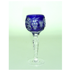 Рюмка для ликера Ajka Crystal Grape Cobalt blue 60 мл