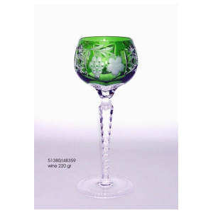 Бокал для вина Ajka Crystal Grape Emerald 220 мл